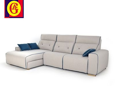 Sofa con chaislongue RO- NATIVA