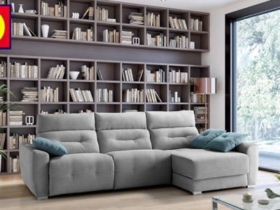 Sofa Con Chaislongue A-LM
