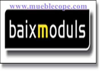 baixmoduls fabricante muebles mueblecope